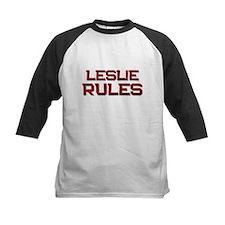 leslie rules Tee