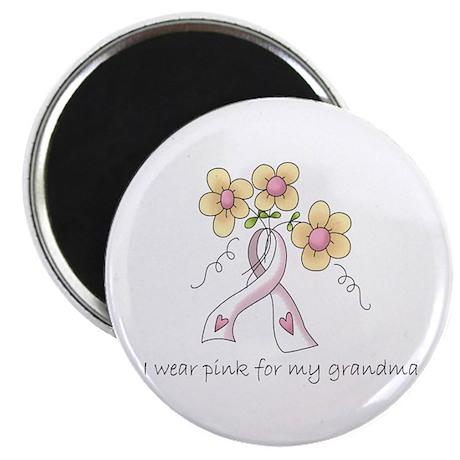 "Pink For Grandma 2.25"" Magnet (10 pack)"