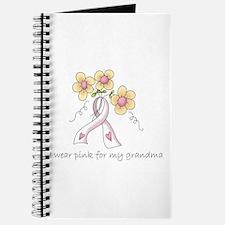 Pink For Grandma Journal