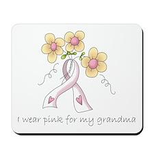 Pink For Grandma Mousepad