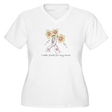 Pink For Aunt T-Shirt