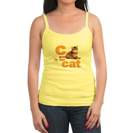C is for Cat Jr. Spaghetti Tank
