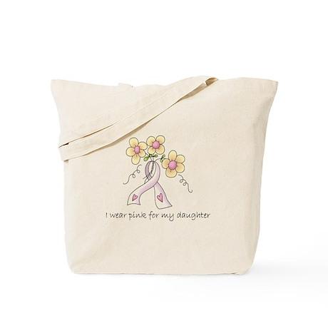 Pink For Daughter Tote Bag