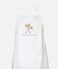 Pink For Daughter BBQ Apron
