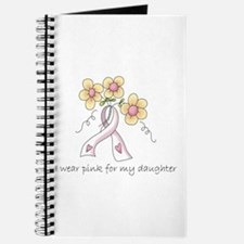 Pink For Daughter Journal