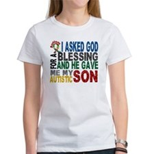 Blessing 5 Autistic Son Tee