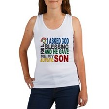 Blessing 5 Autistic Son Women's Tank Top