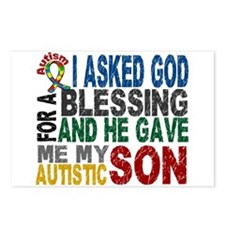 Blessing 5 Autistic Son Postcards (Package of 8)
