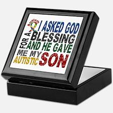 Blessing 5 Autistic Son Keepsake Box
