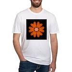 Orange Zinnia I Fitted T-Shirt