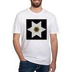 Dogwood Blossom I Fitted T-Shirt