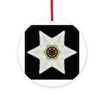 Dogwood Blossom I Ornament (Round)