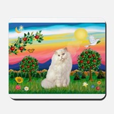 Bright Country / White Persian Mousepad