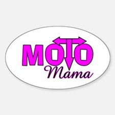 Moto Mama Oval Decal