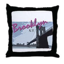 Cute Ny yankees Throw Pillow