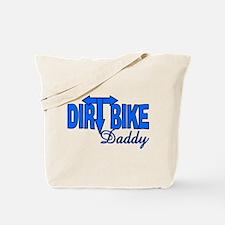 Dirt Bike Daddy Tote Bag