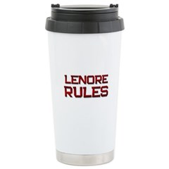lenore rules Travel Mug