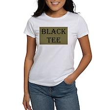 Black Tee Tee