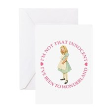 I:VE BEEN TO WONDERLAND Greeting Card