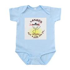 ANGER...Put a Lid on It Infant Bodysuit