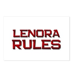 lenora rules Postcards (Package of 8)