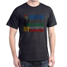 Blessing 5 Autistic Daughter T-Shirt
