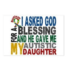 Blessing 5 Autistic Daughter Postcards (Package of
