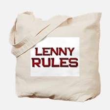 lenny rules Tote Bag