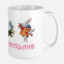 ALICE IN WONDERLAND & FRIENDS Large Mug