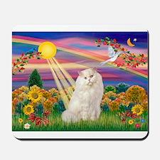 AutumnSun/White Persian Cat Mousepad
