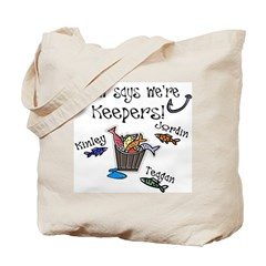Papaws keepers for debbie Tote Bag