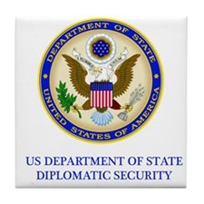 Department of State PSD Tile Coaster