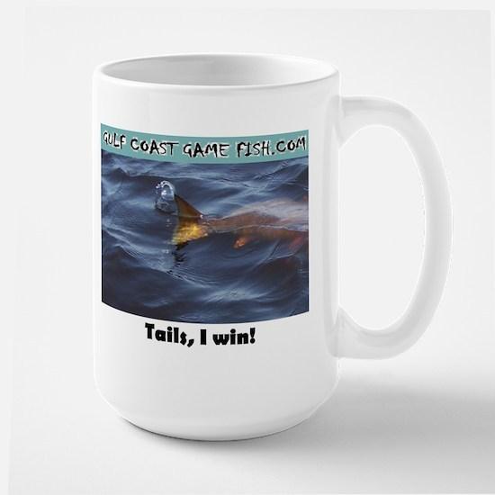 Tails, I win! Large Mug