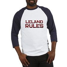 leland rules Baseball Jersey
