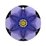 Blue Pansy I Ornament (Round)
