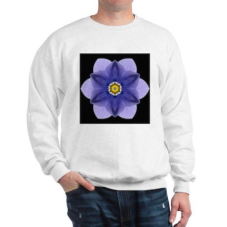 Blue Pansy I Sweatshirt