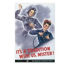 Women WII Postcards (Package of 8)