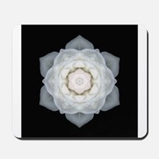 White Rose I Mousepad