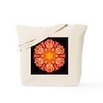 Orange Dahlia II Tote Bag