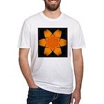 Orange Daylily I Fitted T-Shirt