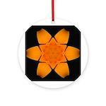 Orange Daylily I Ornament (Round)
