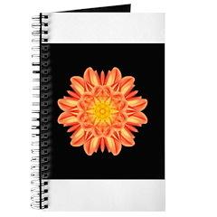 Orange Dahlia I Journal