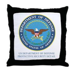 DOD PSD Throw Pillow