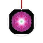 Morning Glory Ornament (Round)