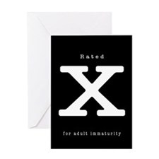 X-Rated Greeting Card