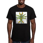 Fun Bug Men's Fitted T-Shirt (dark)