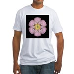 Lavender Pink Peony I Fitted T-Shirt