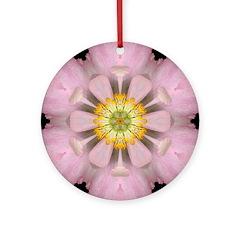 Lavender Pink Peony I Ornament (Round)