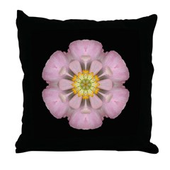 Lavender Pink Peony I Throw Pillow