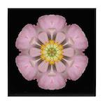 Lavender Pink Peony I Tile Coaster